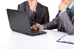 Business people work royalty free stock photo