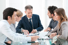 Business people work in group Royalty Free Stock Photo