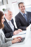 Business People at Work Royalty Free Stock Photo