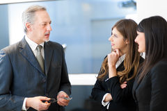Business people at work in their office Royalty Free Stock Photo