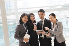 Business people work together Royalty Free Stock Photos