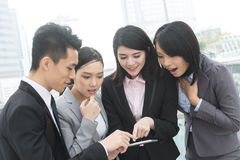 Business people work together Stock Photography