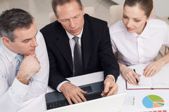 Business people at work. Stock Photo