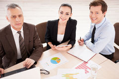 Business people at work. Stock Photos