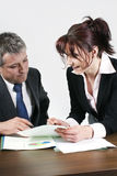 Business people working Royalty Free Stock Photos