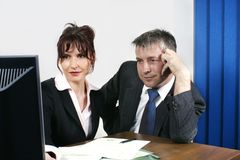 Business people working Royalty Free Stock Photography