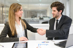 Business people working around table Royalty Free Stock Image