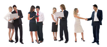 Business people working as a team Royalty Free Stock Photography