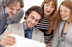 Business people working as a team at the office Stock Photos