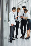 Business People Working as a Team at the Office royalty free stock photography