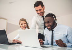 Business people working Royalty Free Stock Images