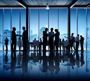 Business People Working In A Conference Room Stock Images