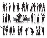 Business People Working Discussion Celebration Concept Stock Images