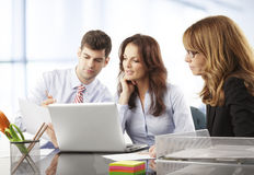 Business people working in group Stock Photos