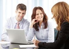 Business people working in group Royalty Free Stock Image