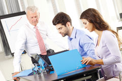 Business people  working in group Stock Images