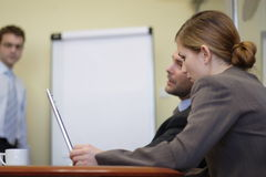 Business People Working In The Office Stock Photos