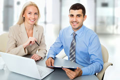 Business people working at meeting Stock Images