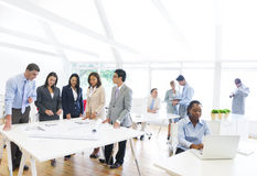 Business People Working In The Office Royalty Free Stock Images