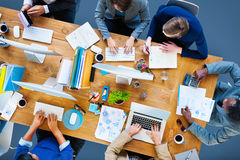 Business People Working Office Corporate Team Concept Royalty Free Stock Images