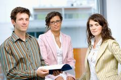 Business people working in team Royalty Free Stock Image