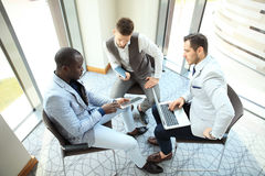 Business People Working Teamwork Cooperation Conference. Stock Image