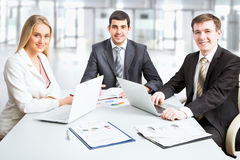 Business people Royalty Free Stock Photos