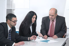 Business people working together Stock Photos