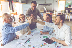 Business people working together Stock Images