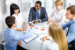 Business people working together. Stock Images