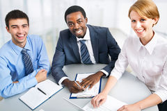 Business people working together. Stock Photos