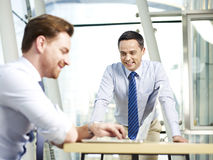Business people working together in office Stock Photo