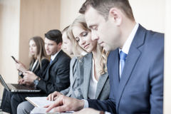 Business people working together Stock Photo