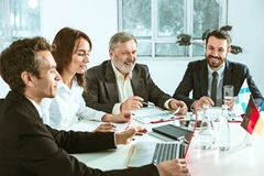 Business people working together Stock Image