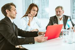Business people working together Royalty Free Stock Photography