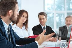 Business people working together Stock Photography