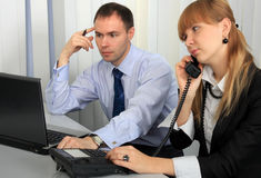Business people in the workplace. Stock Photos