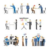Business peoples in different poses Stock Photo