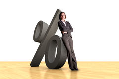 Business Percentage Stock Photo
