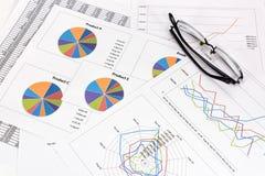Business performance analysis. Royalty Free Stock Photo