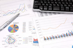 Business performance analysis. Stock Photography