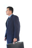 Business Person. Business executive on the way to a meeting Stock Image