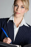 Business Person. Beautiful pretty blond business person Royalty Free Stock Images