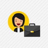 Business person design. Illustration eps10 graphic Stock Photo