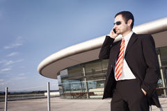 Business Person On Phone. Stock Photography