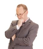 Business person thinking Stock Photography