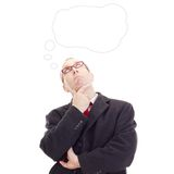 Business person thinking Royalty Free Stock Photo