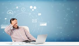 Free Business Person With Operational Concept Royalty Free Stock Images - 139498329