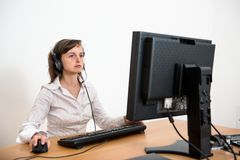 Business person working at office Royalty Free Stock Image