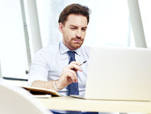 Business person working in office Stock Photo